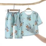 优福优 儿童棉绸夏季睡衣8.9元包邮(券后)