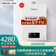 Rinnai 林内 JSQ31-D06 燃气热水器 16L 天然气3980元包邮(需用券)