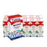 玛德塔 捷克进口全脂纯牛奶 1L*12/盒 *2件108.85元(双重优惠,合54.43元/件)