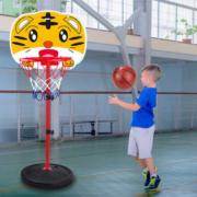儿童可升降铁杆篮球架篮球板39.9元包邮