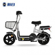 SUNRA 新日 新国标电动自行车 米菲锂电/油光黑