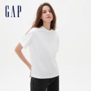Gap 盖璞 540785 女装舒适落肩短袖T恤40.5元包邮