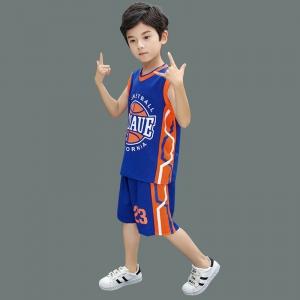 JenMick 杰米克 儿童篮球服套装