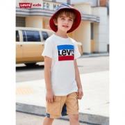 李维斯 男童休闲时尚短袖T恤79.1元包邮(双重优惠)