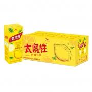 聚划算百亿补贴:统一冰 太魔性 柠檬红茶 饮料 250ml*24盒15.9元包邮(需用券)
