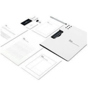 fizz 飞兹 FZ006380 资料文件夹 A4 黑色 横/竖款可选