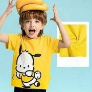 ANTA 安踏 男童纯棉短袖T恤47元(需用券)