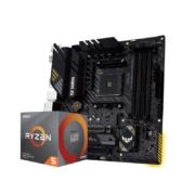 AMD 锐龙R5 3600处理器+ASUS 华硕 TUF GAMING B450M-PRO S 主板