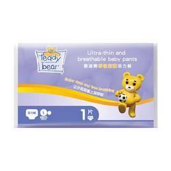 Teddy Bear 泰迪熊 呼吸特薄/臻薄宠爱拉拉裤 试用装 XL6片