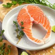 营养美味!佳沃鲜生 智利轮切三文鱼排 (大西洋鲑)精品中段 200g¥13.40 比上一次爆料降低 ¥1.2
