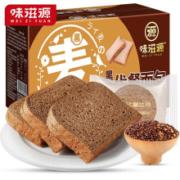 味滋源 黑麦代餐面包500g
