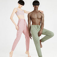 A类标准,40S精梳棉:大朴 2021新款 宽松束脚针织长裤