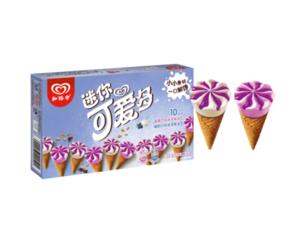 PLUS会员!WALL'S 和路雪 蓝莓酸奶口味 冰淇淋家庭装 20g*10支