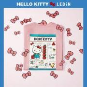 LEDIN 乐町 CWDAA2339  Hello Kitty联名款 女士T恤119.9元包邮