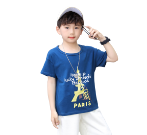 shtoine 舒班妮 男童纯棉短袖t恤