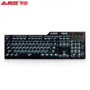 PLUS会员:AJAZZ 黑爵 刺客二 AK35i 有线机械键盘 红轴 单光 104键 黑色149元包邮(需用券)
