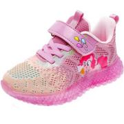 小马宝莉 2021新款透气网面夜光/闪光女童运动鞋(26~39码)79元包邮(原价289元)
