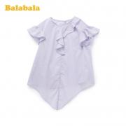 balabala 巴拉巴拉 女童短袖衬衫29.9元包邮