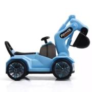 贝利雅 儿童电动挖掘机 万向轮工程车