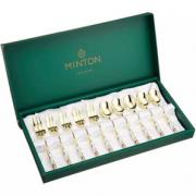英国大使馆标配!MINTON Haddon Hall系列 茶匙与蛋糕叉10件套 到手¥346.68¥317.76
