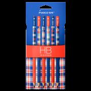 MARCO 马可 圆杆时尚系列书写铅笔 三种配色共18支