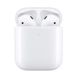 88vip!Apple 苹果 新AirPods(二代)真无线蓝牙耳机 有线充电盒版