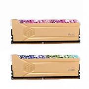 UnilC 紫光国芯 32GB(16G×2)套装 DDR4 3600台式机内存条 RGB灯条 琉璃黄金斩系列 疾速超频