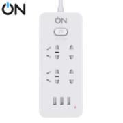 ON USB智能插座/插线板/插排 3款随机发19.9元(慢津贴后18.9元)