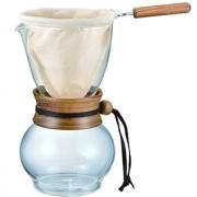 prime会员!Hario 好璃奥 DPW-3 法兰绒咖啡套装 480ml   到手¥225.84