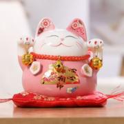 聚来福 陶瓷招财猫摆件19.9元包邮(需用券)