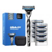 Gillette 吉列 锋速3经典 1刀架+9刀头99元包邮(需用券)