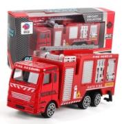 JIMITU 吉米兔 合金小汽车消防车 2件9.9元包邮(需用券)