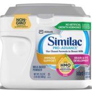 Similac 雅培 Pro-Advance 含2'-FL HMO 1段婴幼儿配方奶粉658g  含税到手¥122.44¥101.86 比上一次爆料降低 ¥9.7