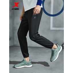 XTEP 特步 879229980093-REAL 男士运动长裤