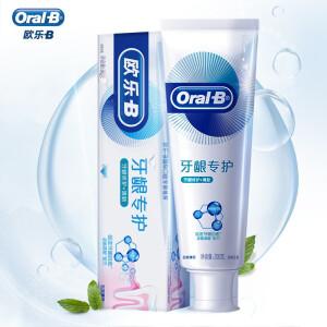 PLUS会员:Oral-B 欧乐-B 牙龈专护牙膏 修护清新型 200g