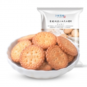 卜珂 日式海盐 小圆饼500g11.22元(需用券)