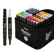 M&G 晨光 APMV0901 马克笔套装 24色24支装 送4件礼13.8元包邮(需用券)