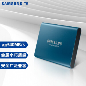SAMSUNG 三星 Portable SSD T5 移动固态硬盘 500GB