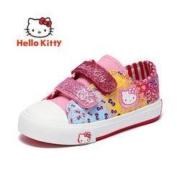 Hello Kitty 凯蒂猫 K151A2904 儿童休闲帆布鞋59元包邮(需用券)
