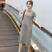 柔软透气!高窕秀腿 女士连衣裙 19.9元包邮(需用券)¥19.90 1.6折