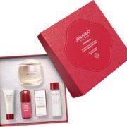 Shiseido 资生堂 Benefiance Wrinkle 盼丽风姿抗皱套装(面霜50ml+洁面5ml+柔肤水7ml+红腰子精华10ml+眼霜 2ml)£33.75(折¥312.19) 4.5折