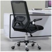LISM 升降转椅简约办公椅 钢制脚 普通海绵158.6元包邮(需用券)