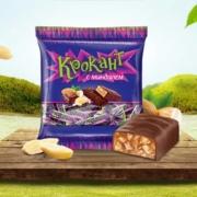 KDV 俄罗斯进口 紫皮糖 巧克力500g9.9元(需用券)