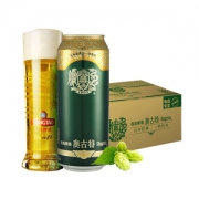 青岛啤酒 高端款 12度奥古特 500ml*18听140元包邮