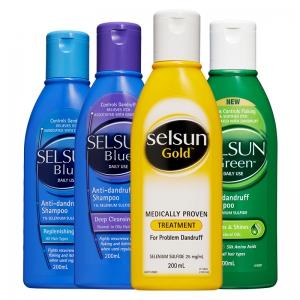 88VIP:Selsun Blue 黄瓶 特效去屑止痒洗发水 200ml