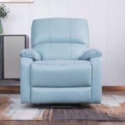 12日0点、可坐可躺!M&Z 掌上明珠家居 真皮功能沙发 单人位(手动款)¥799.00 比上一次爆料降低 ¥100