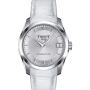TISSOT 天梭 Couturier 库图系列 T035.207.16.031.00 女士机械腕表 到手1457.59元