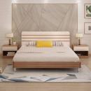 AHOME A家家具 A008 北欧板式床 120*200cm架子床