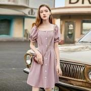 EPTISON 衣品天成 AWQ052Z 女士高腰中长款连衣裙124元包邮(需用券)