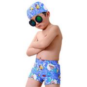 泳搏 儿童平角游泳裤泳帽
